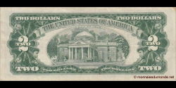 Etats Unis d'Amérique - p382a - 2 Dollars - 1963 - United States Treasury