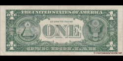 Etats Unis d'Amérique - p419 - 1 Dollar - 1957 - United States Treasury, Silver Certificate