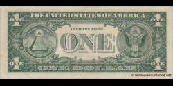 Etats Unis d'Amérique - p419b - 1 Dollar - 1957B - United States Treasury, Silver Certificate