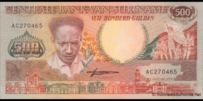Suriname-p135b