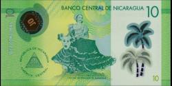 Nicaragua - p209 - 10 Córdobas - Res. 26.03.2014 (2015) - Banco Central de Nicaragua