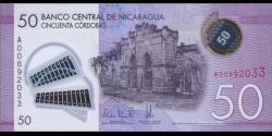 Nicaragua-p211-50 Córdobas-2014