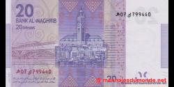 Maroc - p74 - 20 Dirhams - 2013 - Bank Al - Maghrib