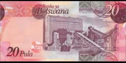 Botswana - p31a - 20 Pula - 2009 - Bank of Botswana / Banka ya Botswana