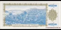 Tonga - p19c - 1 Pa'anga - 27.02.1987 - Komisiona Pa'anga / Currency Commission