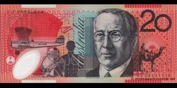 Australie - p59f - 20Dollars - 2008 - Reserve Bank of Australia