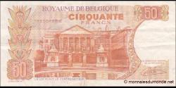 Belgique - p139d - 50 Francs / Frank - 16.05.1966 - Royaume de Belgique - Trésorerie / Koninkrijk Belgie - Thesaurie