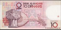 Maroc - p60a - 10 Dirhams - 1987 - Bank Al - Maghrib