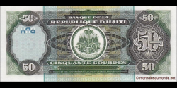Haïti - p267b - 50Gourdes - 2003 - Banque de la République d'Haïti