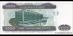 Myanmar - p80 - 1.000 Kyats - ND (2004) - Central Bank of Myanmar