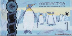 Antarctique - pNL09 - 1 Dollar - 1.12.2015 - Antarctica Overseas Exchange Office LTD.