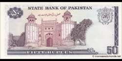 Pakistan - p40 - 50 Roupies - ND (1986 - 2006) - State Bank of Pakistan