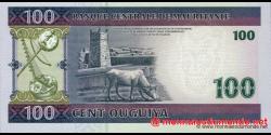Mauritanie - p10c - 100 Ouguiya - 28.11.2008 - Banque Centrale de Mauritanie