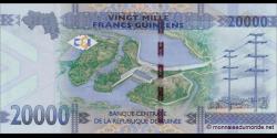 Guinée - p50 - 20.000 francs - 2015 - Banque Centrale de la République de Guinée