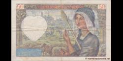 France - p093b - 50 Francs - 8.1.1942 - Banque de France