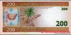 Mauritanie - p11a - 200 Ouguiya - 28.11.2004 - Banque Centrale de Mauritanie