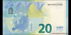 Europe - p22U - 20Euros - 2015 - Banque Centrale Européenne
