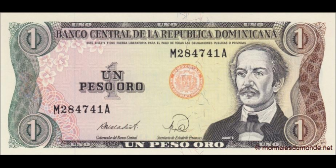 République Dominicaine-p126c