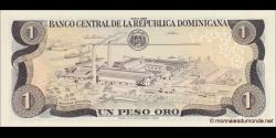 République Dominicaine - p126c - 1 Peso Oro - 1988 - Banco Central de la República Dominicana