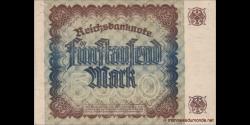 Allemagne - p081a - 5.000Mark - 2.12.1922 - Reichsbank