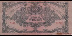 Hongrie - p118b1 - 1.000Pengö - 15.07.1945 - Magyar Nemzeti Bank