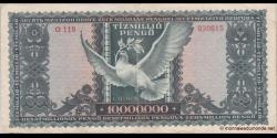 Hongrie - p123 - 10.000.000Pengö - 16.11.1945 - Magyar Nemzeti Bank