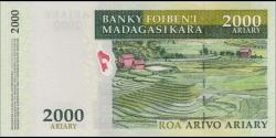 Madagascar - p90c - 2.000 ariary - 2014 - Banky Foiben'i Madagasikara