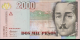Billet de Colombie - Pick 457u - 2000 pesos - 2014