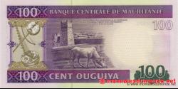 Mauritanie - p16 - 100 Ouguiya - 28.11.2011 - Banque Centrale de Mauritanie