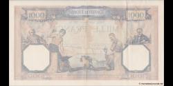 France - p090c - 1.000 Francs - 26.01.1939 - Banque de France