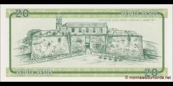Cuba - pFX09 - 20Pesos - ND (1985) - Banco Nacional de Cuba