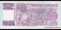 Singapour - p34 - 2 Dollars - ND (1997) - Board of Commissioners of Currency