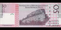 Haïti - p274e - 50Gourdes / Goud - 2014 - Banque de la République d'Haïti / Bank Repiblik Dayiti