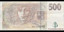 République tchèque - p24 - 500 Korun Českých - 2009 - Česká Národní Banka