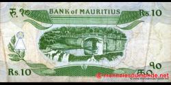 Maurice - p35b - 10 Roupies - ND (1985) - Bank of Mauritius