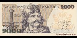 Pologne - p147c - 2.000Złotych - 01.06.1982 - Narodowy Bank Polski