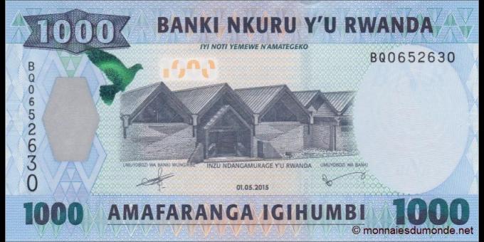 Rwanda - p35b - 1000 Francs - 2005 - Banki Nasiyonali y'u Rwanda / National Bank of Rwanda