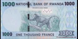 Rwanda - p35b - 1000 Francs - 01.05.2005 - Banki Nasiyonali y'u Rwanda / National Bank of Rwanda