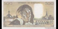 France - p156e - 500 Francs - 5.7.1984 - Banque de France