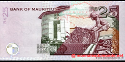 Maurice - p49c - 25 Roupies - 2006 - Bank of Mauritius