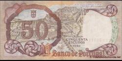 Portugal - p168 - 50 Escudos - 28.2.1964 - Banco de Portugal