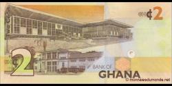 Ghana - p37Ad - 2 cedis - 1.7.2015 - Bank of Ghana