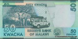Malawi - p58e - 50 Kwacha - 1.1.2016 - Reserve Bank of Malawi