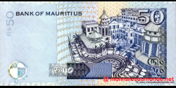 Maurice - p50d - 50 Roupies - 2006 - Bank of Mauritius