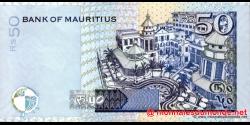 Maurice - p50d - 50 Roupies - 2006 - Bank of Mauritius