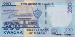 Malawi - p60c - 200 Kwacha - 1.1.2016 - Reserve Bank of Malawi