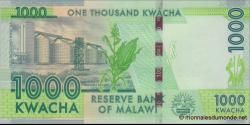 Malawi - p62d - 1.000Kwacha - 1.1.2016 - Reserve Bank of Malawi
