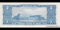 Brésil - p150a - 1 Cruzeiro - ND (1954) - Republica dos Estados Unidos do Brasil, Tesouro Nacional