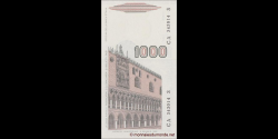 Italie - p109b - 1.000 Lire - D. M. 06.01.1982 - Banca d'Italia