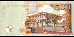 Maurice - p53b - 500 Roupies - 2001 - Bank of Mauritius
